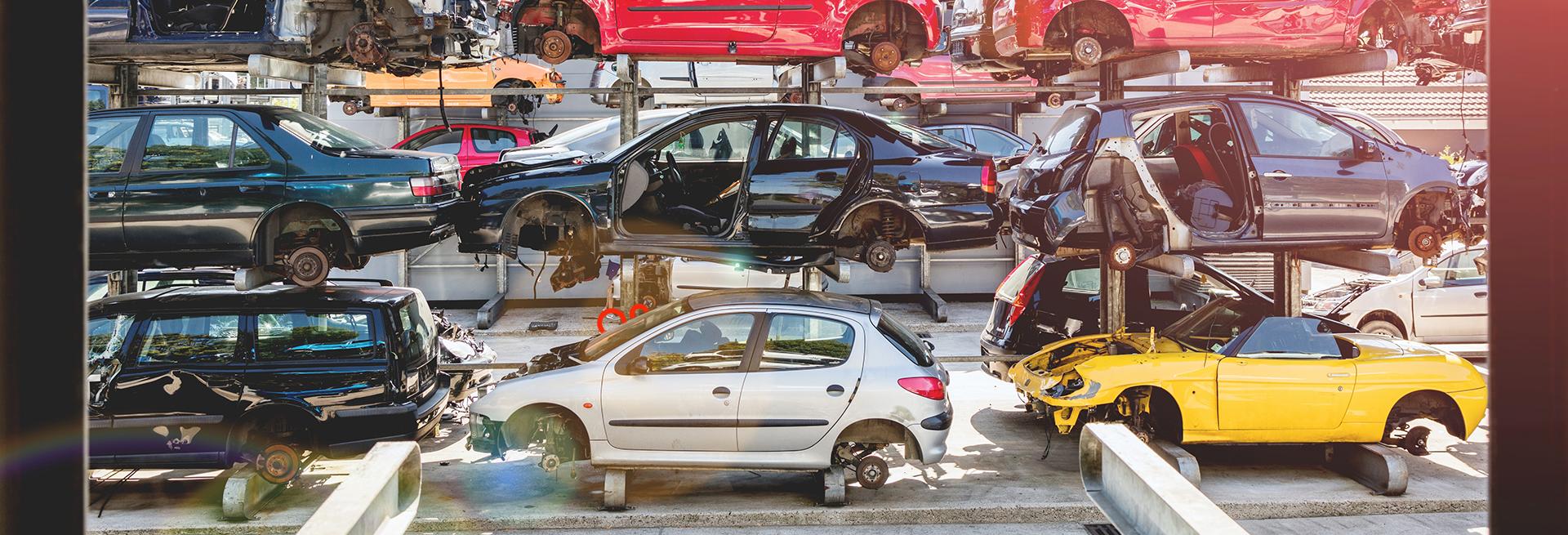 reciclagem de carros