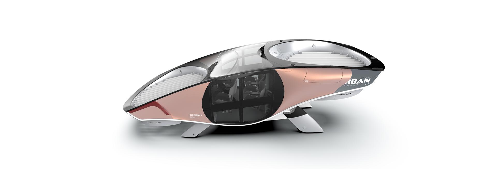protótipo do CityHawk, eVTOL da Urban Aeronautics.